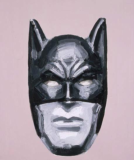 Jadwiga Sawicka, Batman, 2005, olej / płótno, Kolekcja Bunkra Sztuki